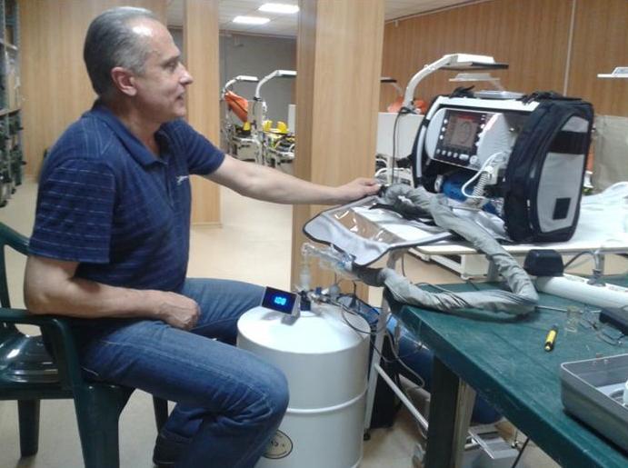 Освоен метрологический контроль состояния (МКС) аппаратов искусственной вентиляции легких 2.JPG