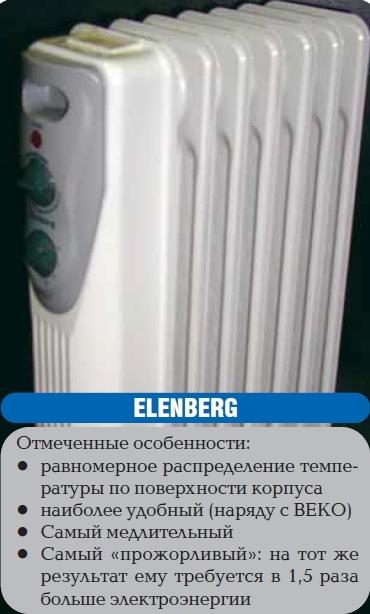 Обогреватель Elenberg Инструкция
