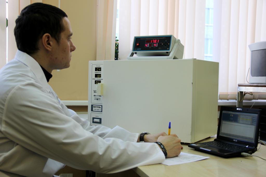 Проверка рабочих режимов по температуре и времени