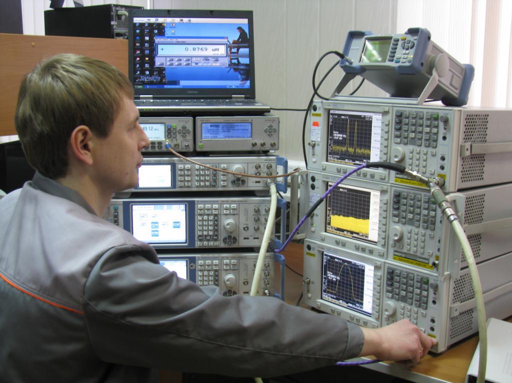 Эталонная установка поверки анализаторов спектра.JPG