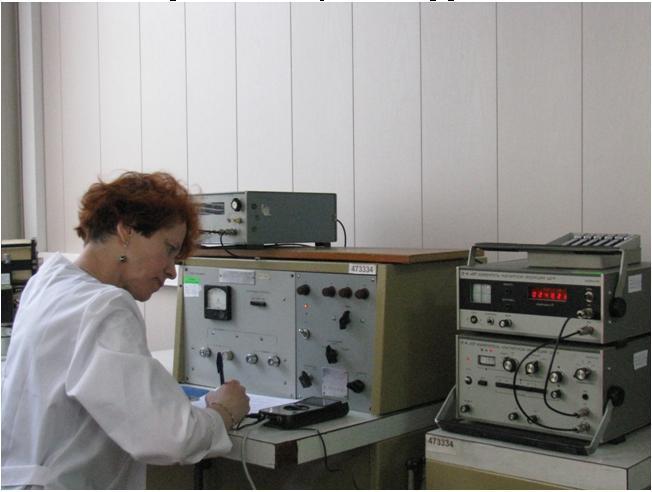 Установка 2-го разряда УПТ-2 для поверки измерителей магнитной индукции, тесламетров, использующих эффект Холла.JPG