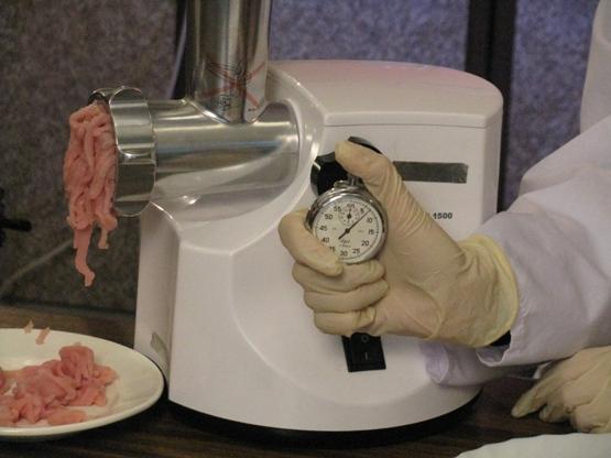 скорость переработки мяса