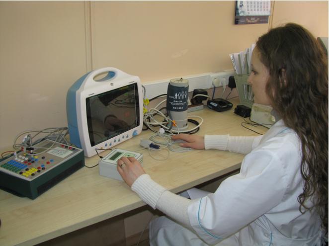 Рабочее место по поверке мониторов медицинских прикроватных.JPG