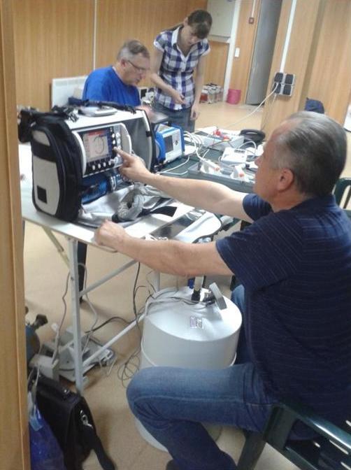 Освоен метрологический контроль состояния (МКС) аппаратов искусственной вентиляции легких.JPG